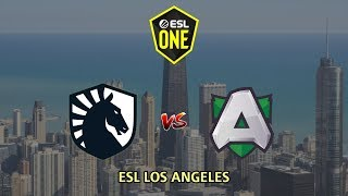Team Liquid vs Alliance - ESL One Los Angeles