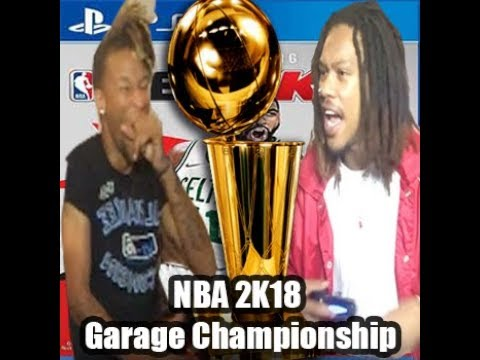 FINAL NBA 2K18 Video! LVSkinny Vs. Quellz - CHAMPION OF THE GARAGE
