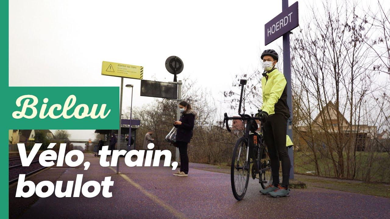 Prendre le train avec son vélo : plus facile à Strasbourg qu'à Paris