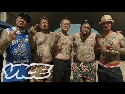 LIVING ON THE EDGE:The New Breed Of Japanese Gangsters  境界線を闊歩するJ-GANGたち
