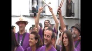 preview picture of video 'Batucada Foto de grupo - Caudiel (15-07-2012)'
