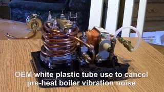 Gaggia espresso machine mod preheat copper tube and add OPV