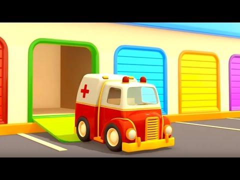 Los vehículos de servicio. Episodio 2. Ambulancia y Camión de remolque