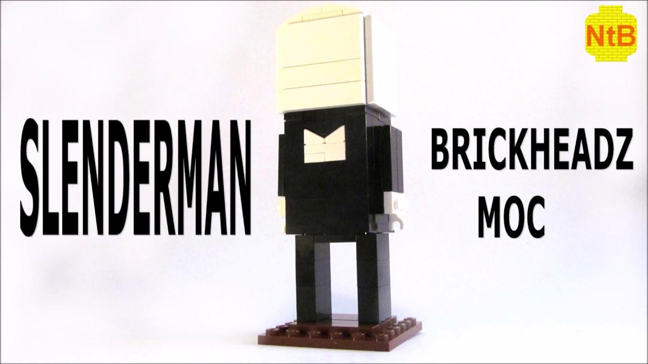 LEGO BRICKHEADZ SLENDERMAN MOC