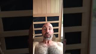 Napallo Talks About How Much He Likes His Jacuzzi® Ourdoor Infrared Sauna