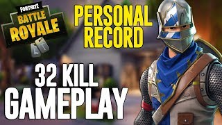 32 Kill Solo Squads!! Fortnite Battle Royale Gameplay   Ninja