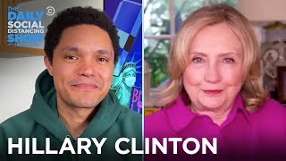 Hillary Clinton - Voter Suppression, Roger Stone, & Trump | The Daily Social Distancing Show