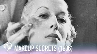 Secrets Of Makeup Application (1936) | Vintage Fashions