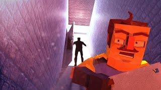Minecraft   Hello Neighbor - BASEMENT DOOR ENDING! (Hello Neighbor in Minecraft)