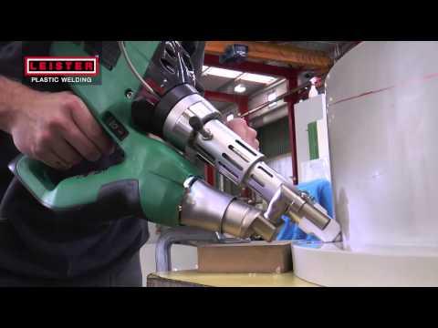 Plastic Welding - Weldplast S1 Extrusion Welder  - Leister