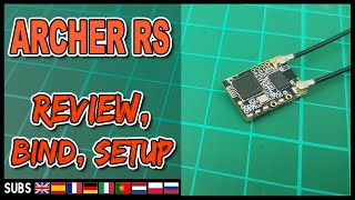 Frsky Archer RS (ACCESS OTA) - Review, Bind, Setup