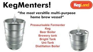 KegMenter The Most Versitile Multi-Purpose Pressure Rated Home Brew Vessel