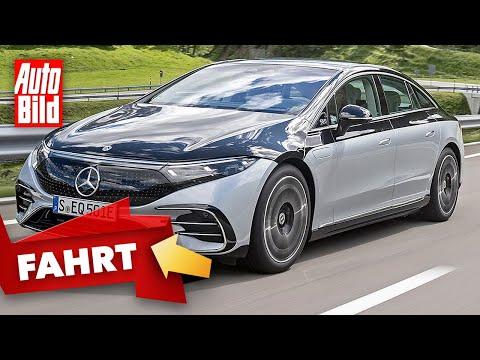 Mercedes EQS (2021)  So fährt der Luxus-Stromer mit Stern  Erste Fahrt mit Dirk Branke