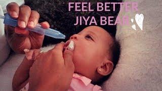 JIYA BEAR IS SICK...HOPE YOU FEEL BETTER SOON !