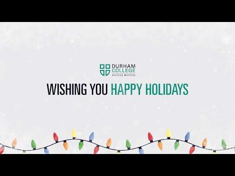 DC Holiday Wrap - Durham College