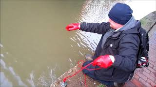 Magnes Neodymowy Magnet Fishing  #3 Rower i łopaty
