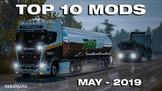 TOP 10 ETS2 MODS - MAY 2019 | Euro Truck Simulator 2 Mods