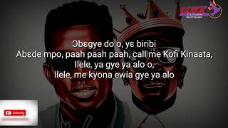 Kofi Kinaata ft Shatta Wale – Never Again Lyrics