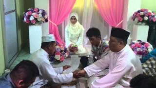 preview picture of video 'Pernikahan Azri Rusli & Kemly di Kampung Baginda, Keningau, Sabah'
