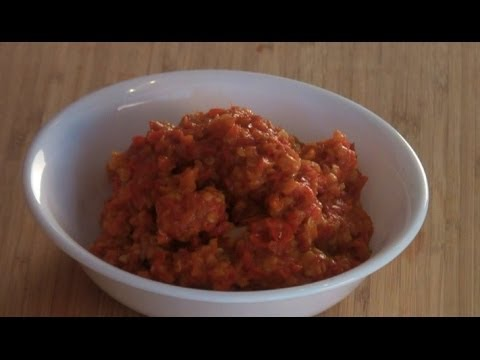 Sambal Chilli Sauce (Home Made) Recipe