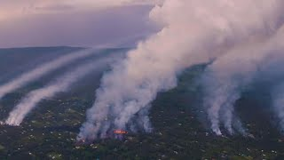 Toxic fumes from lava flow cause new concerns in Hawaii