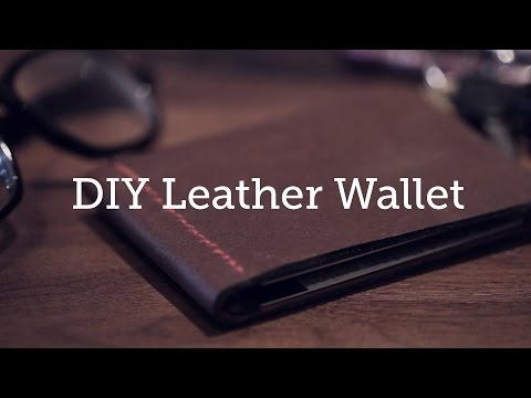 Make A Custom Wallet With Scrap Leather