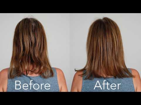 Monat Intense Repair Shampoo Tutorial with Before & After