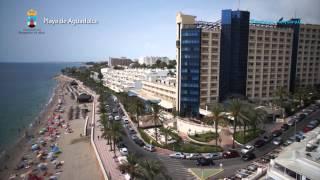 preview picture of video 'Turismo Roquetas de Mar - Vista aérea de las playas'