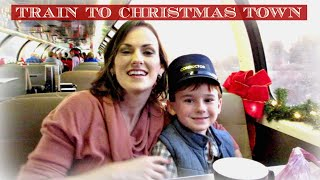 Train to Christmas Town {Daily Vlog}