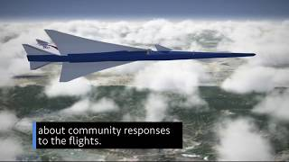 Lowering the Boom of Supersonic Flight on This Week @NASA – April 6, 2018