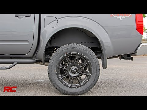 Installing 2005-2018 Nissan Frontier Rear Inner Fender Liners by Rough Country