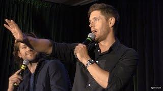 Jensen Ackles Kicks Hotel Door Down In Real Life - Montreal Con