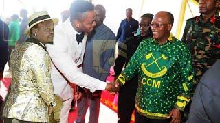 Funga ndoa wewe kama Harmonize acha kucheka Magufuli atoa neno kwa Diamond Alikiba safi