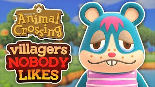 Top 10 WORST Animal Crossing Villagers In New Horizons