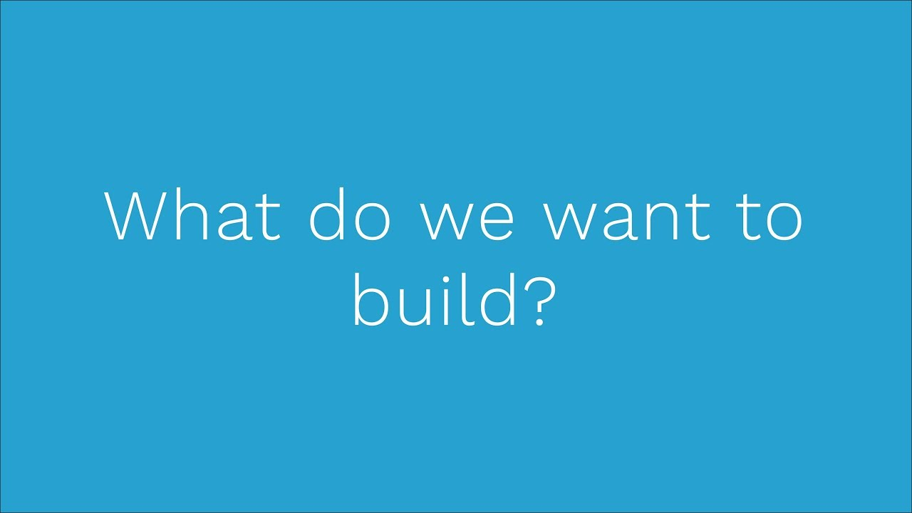 Neos Course - 04 What we want to build