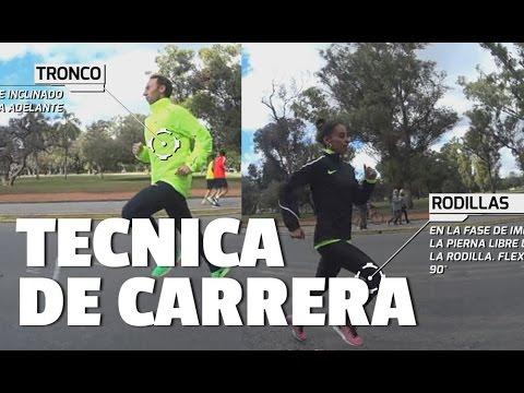 TECNICA DE CARRERA PARA MARATON: Mariano Mastromarino y Marita Peralta, maratonistas Olímpicos
