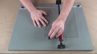 "Portable Glass Cutter - 3/8"" Strips"