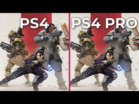 APEX Legends – PS4 vs. PS4 Pro Graphics Comparison
