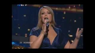 Maria Haukaas Storeng - Hold On Be Strong (Eurovision 2008 - Norway) Broadcasting by ERT