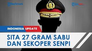 Oknum Perwira dan Bintara di Surabaya Pesta Narkoba Bareng 3 Warga, Sabu dan Sekoper Senpi Disita
