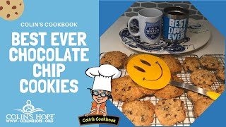 Best Ever Chocolate Chip Cookies with Colin's Hope