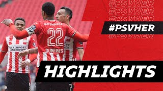 Boscagli as a CM ?? & what a goal from Ihattaren ☄️ | HIGHLIGHTS PSV - Heracles Almelo