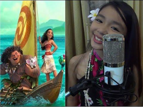 HOW FAR I'll GO - MOANA (Alessia Cara) - Cover by 10 y/o Bernice Shane - (CNMI-Saipan)