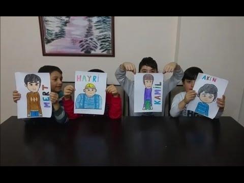 Rafadan Tayfa Boyama Kapışması Rafadan Tayfa çizgi Film