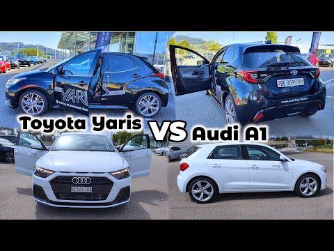 Toyota Yaris Hybrid vs Audi A1 2020   Favorite ?