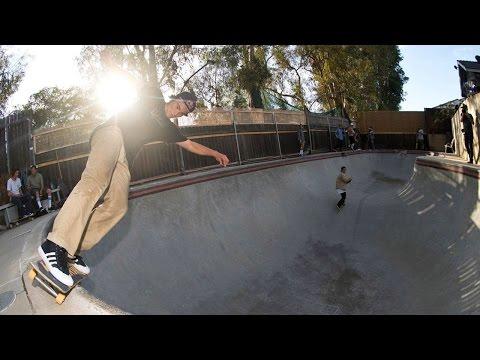 Video Backyard Bowl Skating in Huntington Beach | This is Live