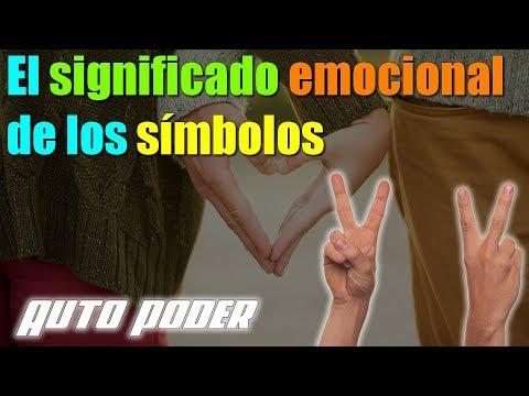 El significado emocional de los símbolos