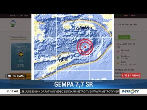 BMKG: Gempa 7,4 SR di Maluku Barat Daya Tidak Berpotensi Tsunami