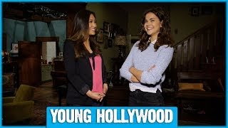 THE FOSTERS Set Visit: Exclusive Tour & Chat with the Stars!