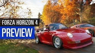 Forza Horizon 4 PREVIEW / VORSCHAU - Eindrücke aus der Demo / E3 2018